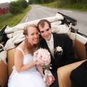 Min forrige bryllupsbil